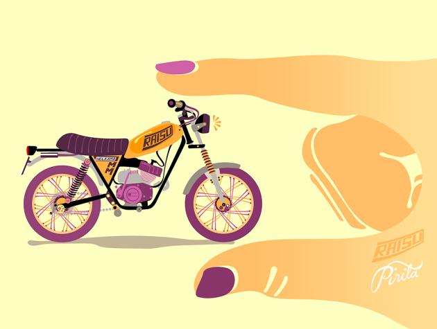 Pirita Tolvanen Motorcycle Stories 04 Raisu 78